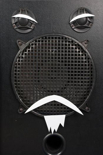Black Box Listen To Me Loud Speaker Old Man Says Speaker The Man What I Say White Beard