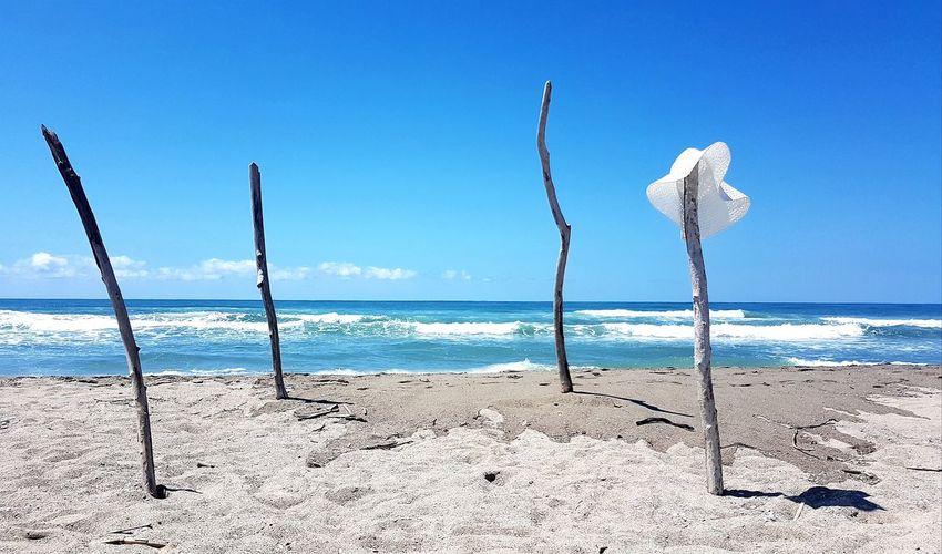 Caribbean sea? Water Sea Beach Sand Clear Sky Blue Sky Horizon Over Water Coast Calm Tranquil Scene Coastline Ocean Sandy Beach The Great Outdoors - 2018 EyeEm Awards The Traveler - 2018 EyeEm Awards My Best Travel Photo