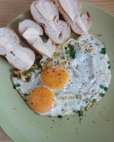 Egg Yolk Fried