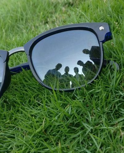 Perfect Shots Beauty In Nature Fun Plant Glasses Sunglasses Nature Field Land Green Color Reflection Fashion No People Personal Accessory Day Outdoors Close-up Eyewear Go Higher