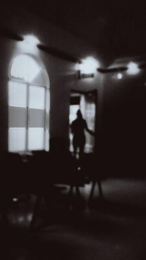 Silhouette of a Wake Attendee Blackandwhite EyeEm Best Shots Eyeem Philippines Silhouette