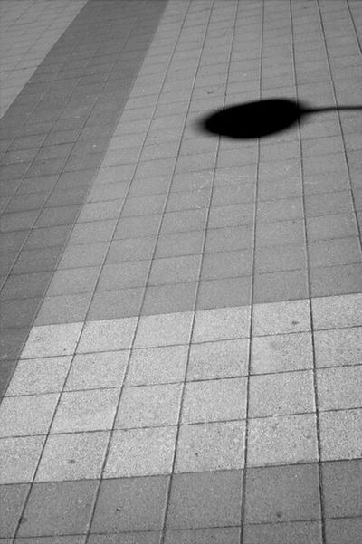 Light And Shadow Black & White Abstract Minimalism
