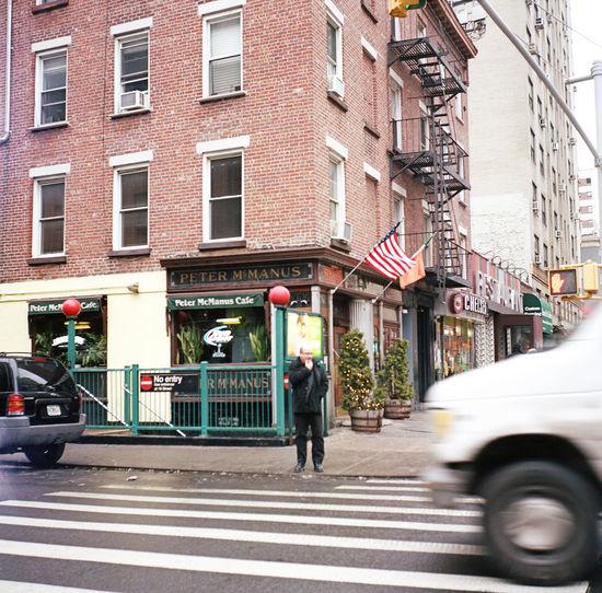 Chelsea, February 2016 Manhattan Chelsea NYC Streetphotography Street Photography Streetphoto_color Lubitel Medium Format Film Photography Kodak Portra 400 Kodak Portra Kodak Portra Eyeemphoto