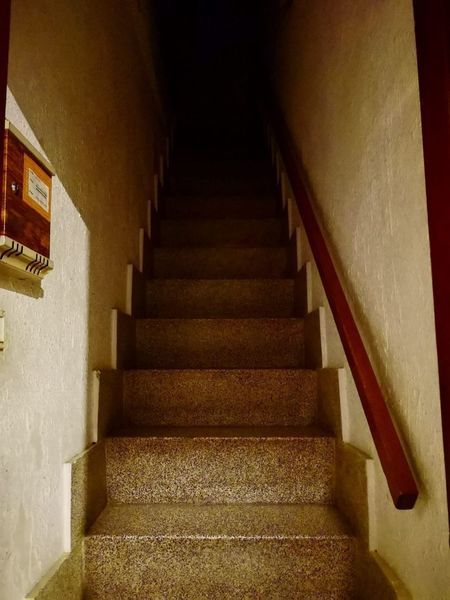 Staircase Steps And Staircases Architecture Indoors  Railing No People Direction
