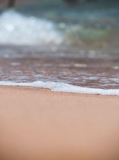 Enjoying the little things Beaches Hawaii Water Close-up Backgrounds Pattern No People Full Frame Land Nature Simplicity Watercolor Painting Creativity