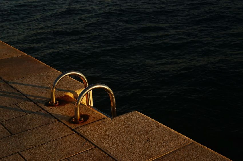 Water No People High Angle View Sea Outdoors Day Nautical Vessel Nature Close-up Zadar,Croatia Adriatic Sea Steps To The Sea Steps And Staircases Eyeemnaturelover💕💕😊☺ Travel Destinations Relaxation Beauty In Nature Scenics Landscape Summer Nature Vacations Horizon Over Water Sunlight Sunset Breathing Space
