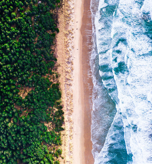 paradise found Beach Beauty In Nature Day Landscape Motion Nature No People Outdoors Sand Scenics Sea Spraying Tranquil Scene Tranquility Tree Water Wave