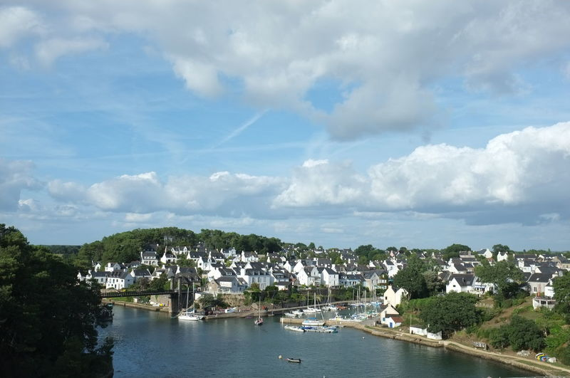 Bretagne Architecture Beauty In Nature Building Exterior Built Structure City Cloud - Sky Day Environment Mode Of Transportation Nature Nautical Vessel No People Outdoors River Sky Transportation Tree Village Water Waterfront Yacht