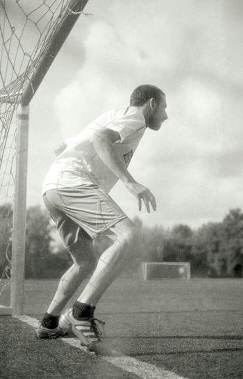Analogue Photography Football Blackandwhite Summertime