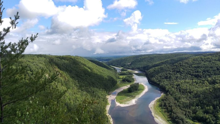 Restigouche River between New-Brunswick and Québec. Hello World First Eyeem Photo