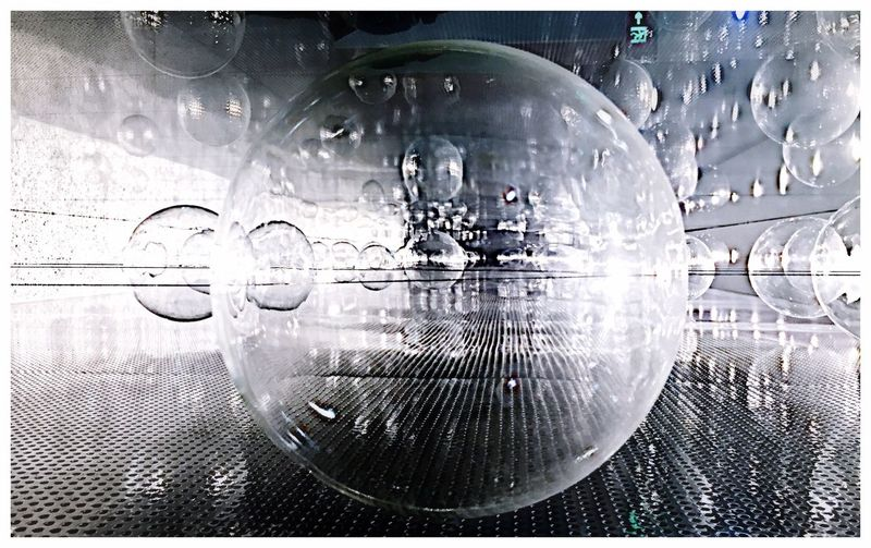 Step Into The Next Dimension... Spheres Blackandwhite Portal Perspectives