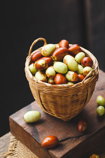 Chinese date fruits-Ziziphus jujuba fruits Asia Fruit Burlap Chinese Date Eating Nature Ziziphus Jujuba Bamboo Brown Colorful Delicious Food Food And Drink Freshness Fruit Healthy Healthy Eating Jujuba Jujube Fruit Old Wood Organic Raw Food Red Dates Still Life Sweet Food Tasty