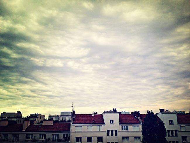 Thunderstorm Paris Summer Avant L'orage