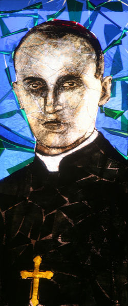 Blessed Aloysius Stepinac Aloysius Stepinac Belief Blessed  Christianity Church Croatia Faith Holy Religion Religious  Saint Spirituality Stained Glass Stepinac Window Windowpane Worship