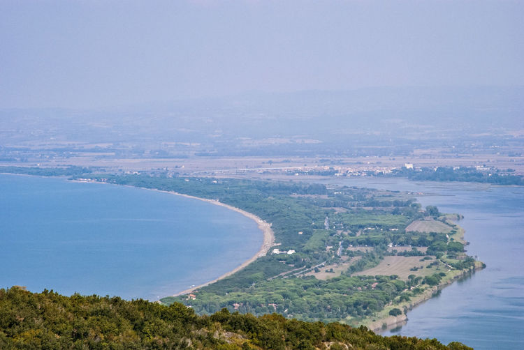 Grosseto Toscana Aerial View Argentario Bay Beach Beauty In Nature Cityscape Coastline Day Environment Giannella High Angle View Italy❤️ Land Landscape Nature No People Outdoors Plant Scenics - Nature Sea Sky Tombolo Della Gianella Tranquil Scene Tranquility Tree Water