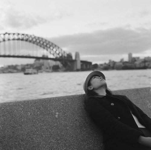 Blackandwhite Relaxing Rolleiflex 3.5f Rolleiflex3.5f Rolleiflex35f Rolleiflex 35f 120 Film Rolleiflex SydneyHarbourBridge Sydneyharbour