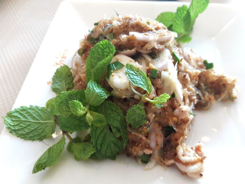 Arugula Close-up Day Food Food And Drink Freshness Healthy Eating High Angle View Indoors  No People Plate Ready-to-eat Salad SP Thai Food Thailnad