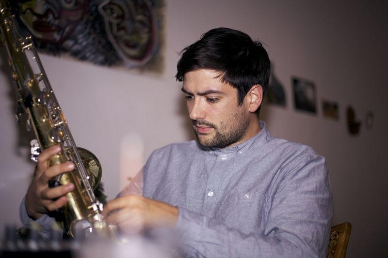 5D Mark II Music Sax Canon Musician Portrait Portrait Photography Saxophone