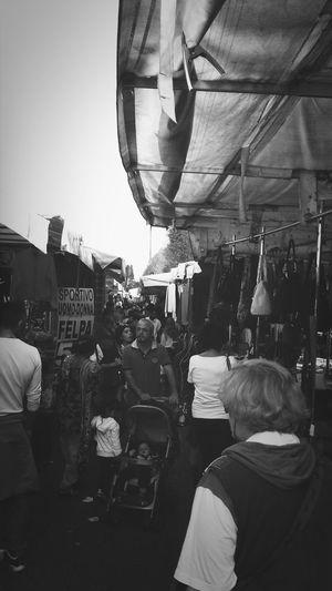 il mercato del sabato Street Market Saturdaymorning