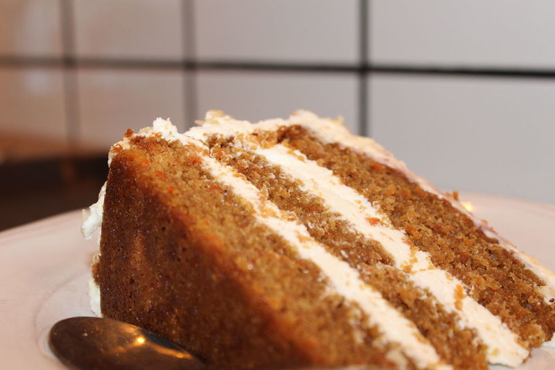 Carrot Cake Carrotcake #carrot #cake #peterypan #jummy #delicious Food Food And Drink Bread Selective Focus No People Close-up Indoors  Ready-to-eat Day Freshness