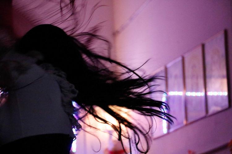 Cigana Dança Human Hair Long Hair Religion Umbandasagrada