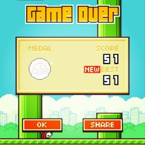 Yeahhh naik lagi Fluppybird Games Fluppy Bird