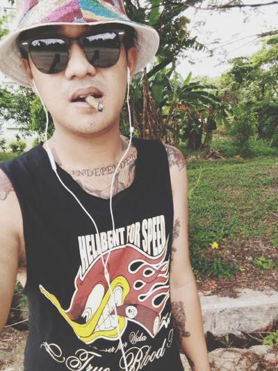 Good Morning✌♥ Hot Day Weed Smoker True Blood Music On World Off Smokeweedeveryday Fresh