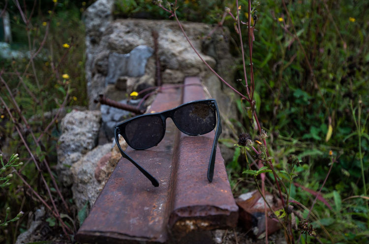 Desolate Abandoned Close-up Day Nature No People Old Outdoors Sunglasses
