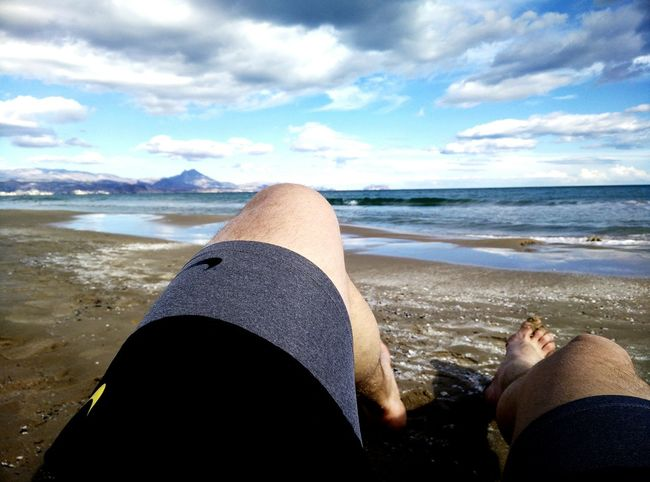 Relaxing Enjoying The Sun Wintercontraculture Alicante Montreal Series That's Me Taking Photos Running Landscape How's The Weather Today?