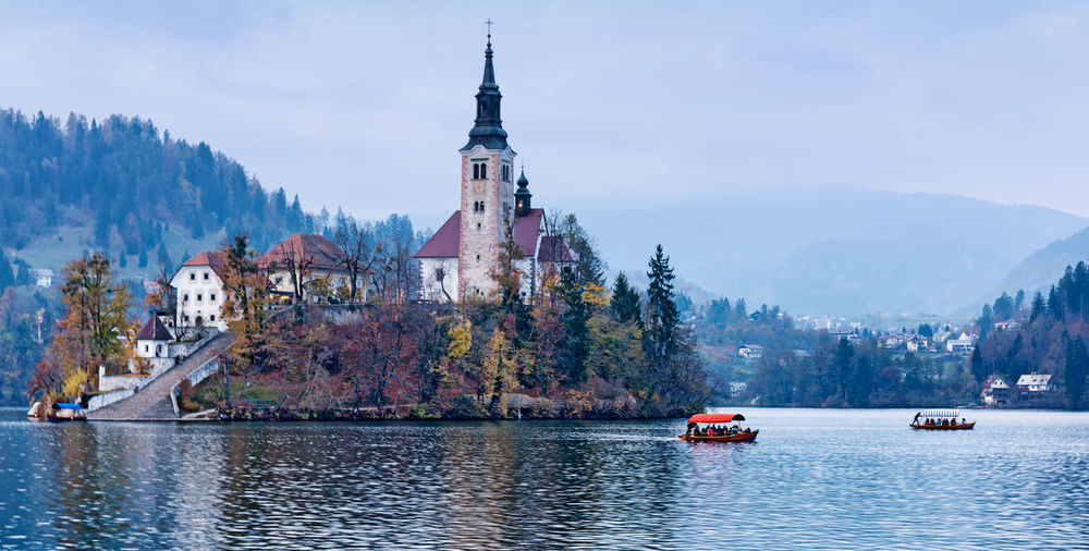 Bled, Slovenia Bled Lake Slovenia Slovenia Architecture Bled, Slovenia Day Mountain Nature No People Travel Destinations Water