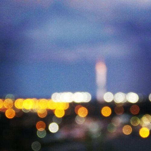 City Brasília Torredigital Embarassado fosco cidade beautiful bonito colors colorido lights luzes tower