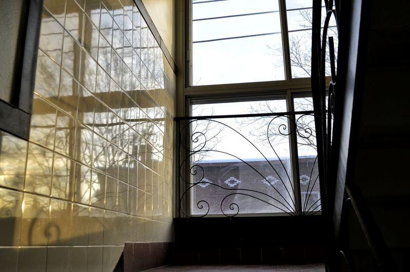 Window Destruction Shattered Glass Architecture Built Structure