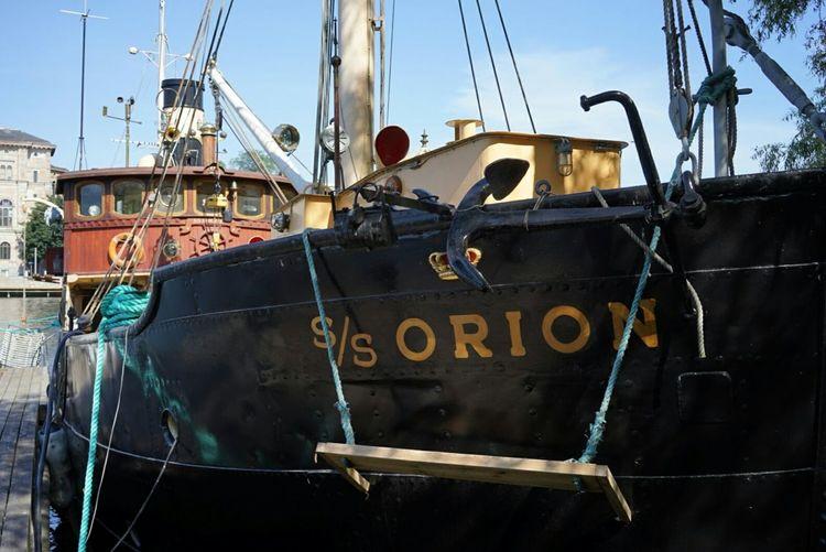 SS Orion Steamship Samhällstjänst Summer