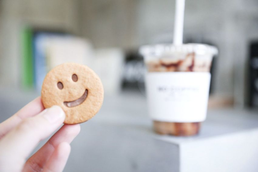 EyeEm Selects Food And Drink Food Sweet Food Ready-to-eat Cookie Coffee Cafe Smile Canon 6D Japan