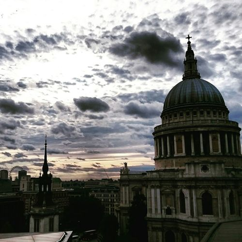 Skyline London Landmark Clouds Thisislondon Sky St Paul's Cathedral