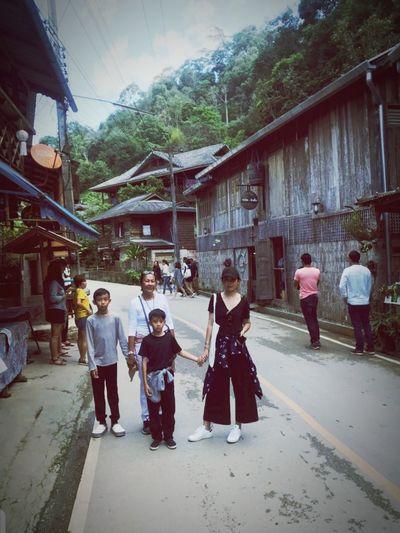 Mae Kampong, Chiangmai, Thailand Young Women Full Length Men Women Religion Spirituality Architecture