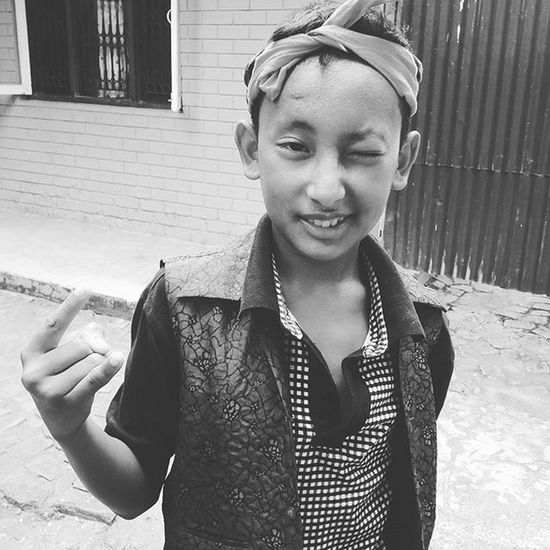 My brother acts as same as Fettywap Doing his own Trapqueen :v