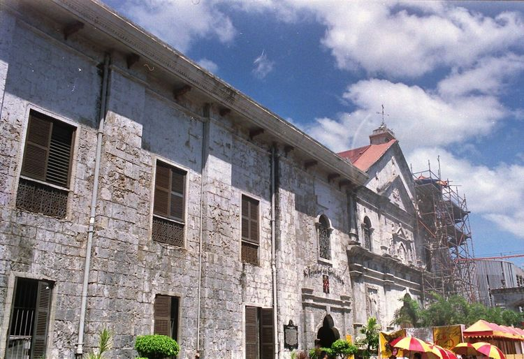 Life in Film Architecture Built Structure Cebu Philippines Basilica Del Sto. Niño Minore Film Photography Filmphotography Festival Season