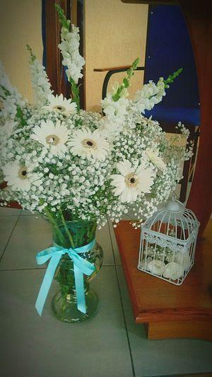 Arranjo de flores! Sabadofesta