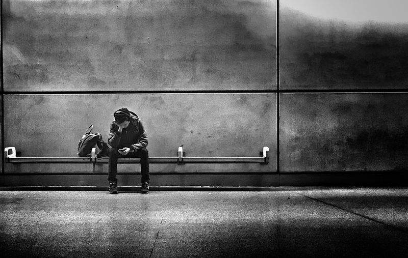 The Delay - Tube People London Train Station Tube Underground EyeEm Best Shots Shootermag Blackandwhite Time Shootermag_uk Underground Station  Transportation Monochrome The Art Of Street Photography