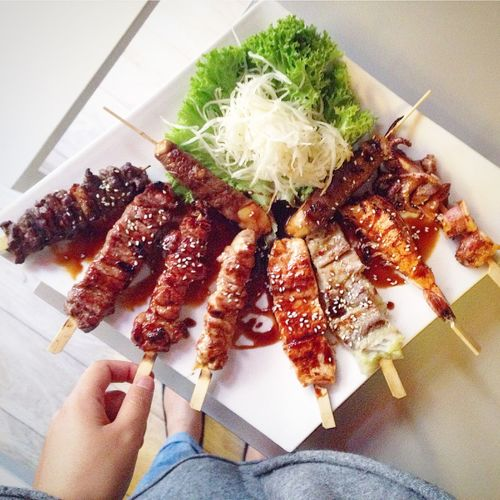 Food Porn Awards yakitori overload, the meat is just divine ❤️