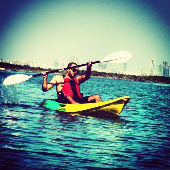 Kayaking Chilling Sea Me