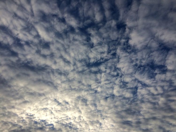 Sky Cloud - Sky Nature Beauty In Nature Low Angle View Cloudscape Scenics Backgrounds No People Sky Only Tranquility Tranquil Scene Awe Outdoors Full Frame Day No Filter