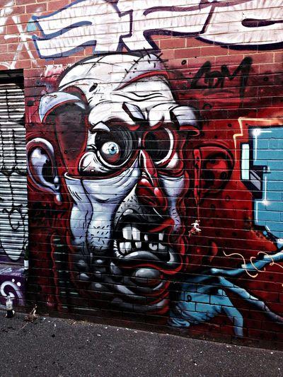mural Graffiti Art by Gent