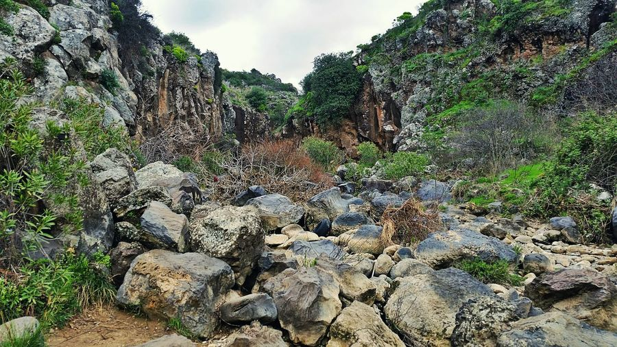 Rocks Cliff Nature Outdoors Cliffs Mountain Waterfall Hermon Israel Nature, Wild Nature