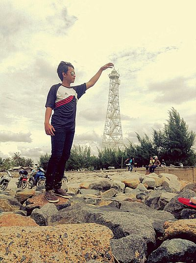 Giant Mercusuar Rupatisland Rupatselatan Bengkalis Riau INDONESIA Eyeemindonesia Beach Nature Hanging Out
