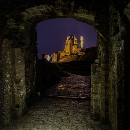 Castle Ruins at