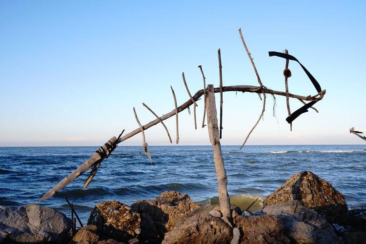 No People Ortona Ortona Abruzzo Pista Ciclabile Seascape Sea Life Sea Sky Seaside Sculpture
