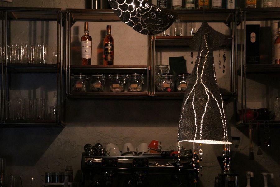 Cafe Cafeteria Decor Decoration Electric Lamp EyeEm Korea Hanging Illuminated In The Cafe Light Ornate Sokcho Tranquility