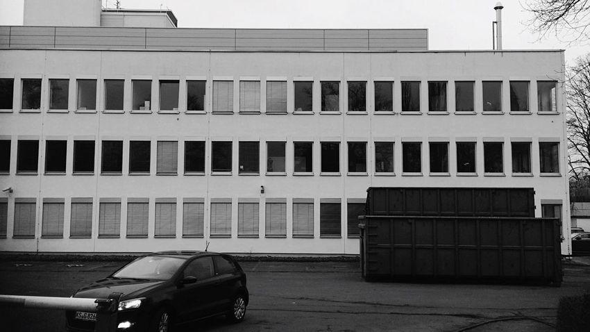 Cars Naturalized Blackwhite Grid Old Modernity Streetphoto_bw Barriers Lerone-frames Façade Kassel Black&white Architecture_bw